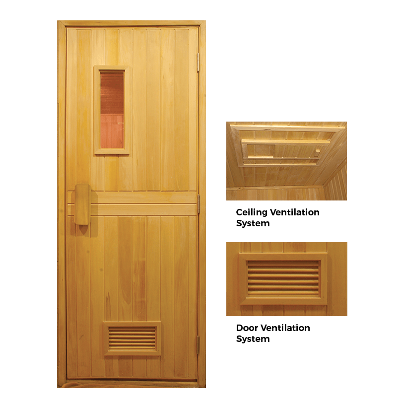 Sauna Door by Sonic Steam and Suana